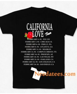 California Love Tour Selena Tupac Twoside