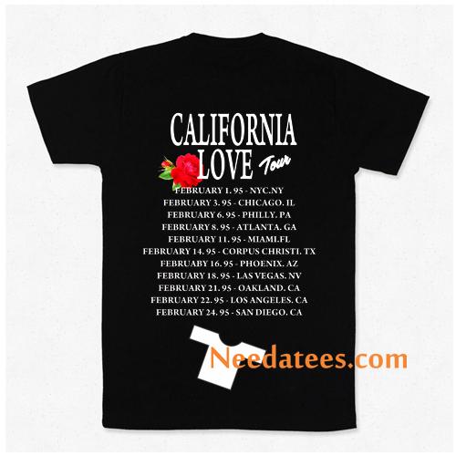 California Love Tour Selena Tupac Twoside