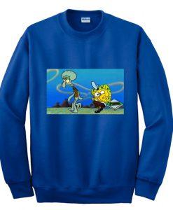 Spongebob krusty krab pizza Sweatshirt