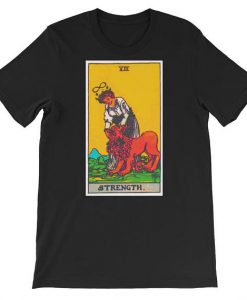 Strength Tarot Card T Shirt