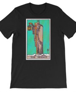 The Hermit Tarot Card T Shirt