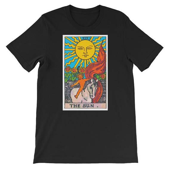 The Sun Tarot Card T Shirt
