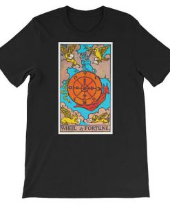 Wheel of Fortune Tarot Card T Shirt