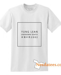 Yung Lean Unknown Death T-Shirt