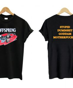 The Offspring Stupid Dumbshit Goddam Motherfucker Luke Hemmings T shirt Twoside