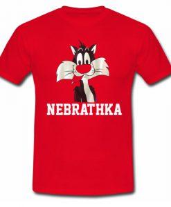 Vintage 90s Looney Tunes Nebrathka Sylvester T shirt