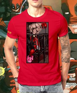 Deadpool Dips Fitted Comic T Shirt