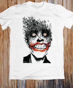 Comics Batman Joker Face Of Bats Unisex T Shirt