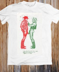 Cowboys Naked Pistols Worn By Sid Vicious Retro Hipster Unisex T Shirt