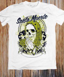 Santa Muerte Holy Death Unisex T Shirt