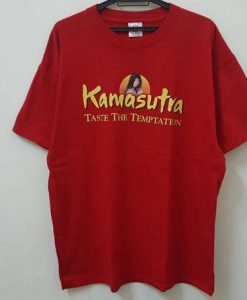 Vintage 90s KAMASUTRA taste the temptation promo t shirt rare hype dope swag style t-shirt