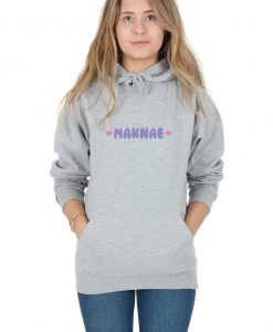 Maknae Hoody Hoodie Top Fashion Blogger Kpop Slogan Kawaii