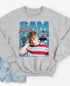 Sam Fender Homage Sweatshirt Jumper Retro 90's Party Vintage Men's Women's