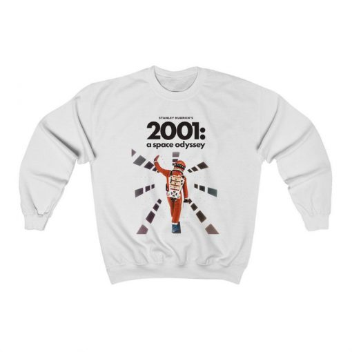 2001 A Space Odyssey (1968) Sweatshirt, 60s Sci-Fi Movie, Adult Mens & Womens
