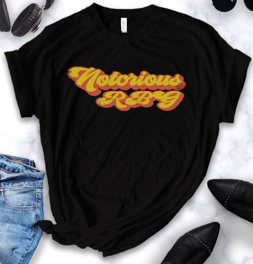 Vintage Notorious RBG shirt, tank top, hoodie, Ruth Bader Ginsburg - Retro Feminism - Protest - Women Power - Graphic Tees - Equality - gift