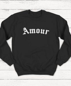 Amour Sweatshirt, Love Sweatshirt