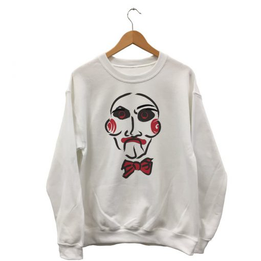 Saw Sweatshirt - Jigsaw Shirt - Oh Yes There Will Be Blood