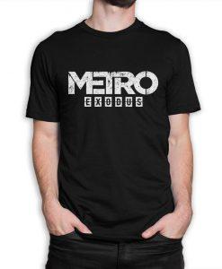 Metro Exodus Graphic T-Shirt, Men's and Women's Sizes