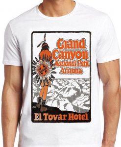 Grand Canyon T Shirt National Park Arizona El Towar Hotel Vintage