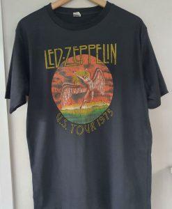 Led Zeppelin Tour T-shirt